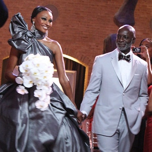 Cynthia Bailey, Peter Thomas, Wedding