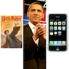 Harry Potter and the Deathly Hallows, President Barack Obama, iPhone