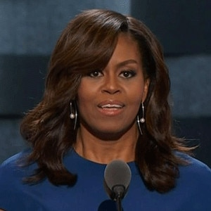 Prime Comparing Michelle Obama39S 3 Dnc Looks From 2008 2012 And 2016 Short Hairstyles For Black Women Fulllsitofus
