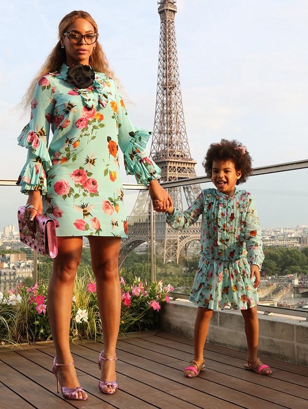 Beyonce, Blue Ivy, Fashion