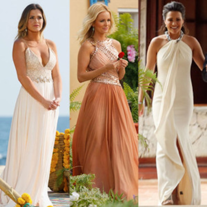 How JoJo Fletchers Finale Gown Ranks Amongst The Bachelorettes Best Dresses Of All Time