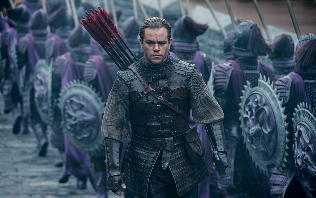 Matt Damon Takes on Mythical Beasts in 'The Great Wall'