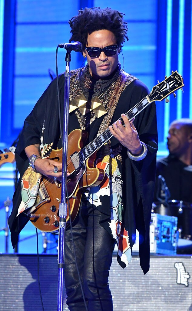 Lenny kravitz from the big picture today 39 s hot photos e for Lenny kravitz gibson