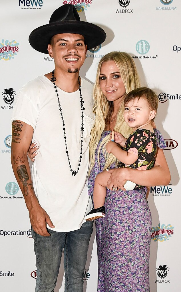 Ashlee Simpson Ross, Evan Ross, & Jagger Ross from The Big ...