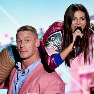 John Cena, Victoria Justice, 2016 Teen Choice Awards