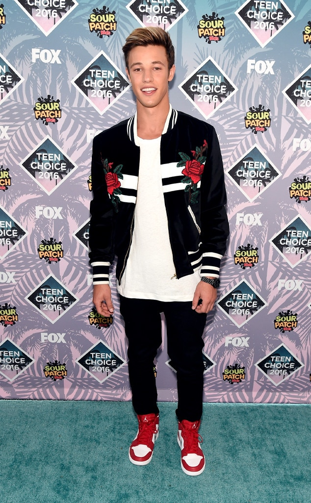 Cameron Dallas , 2016 Teen Choice Awards