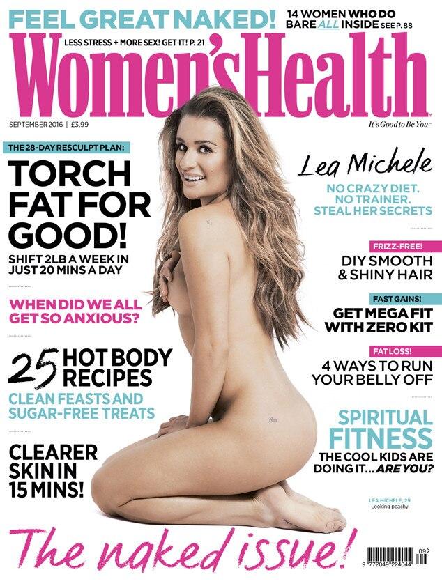 Lea Michele, Women's Health Magazine UK