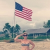 Amy Schumer Instagram, Fourth of July