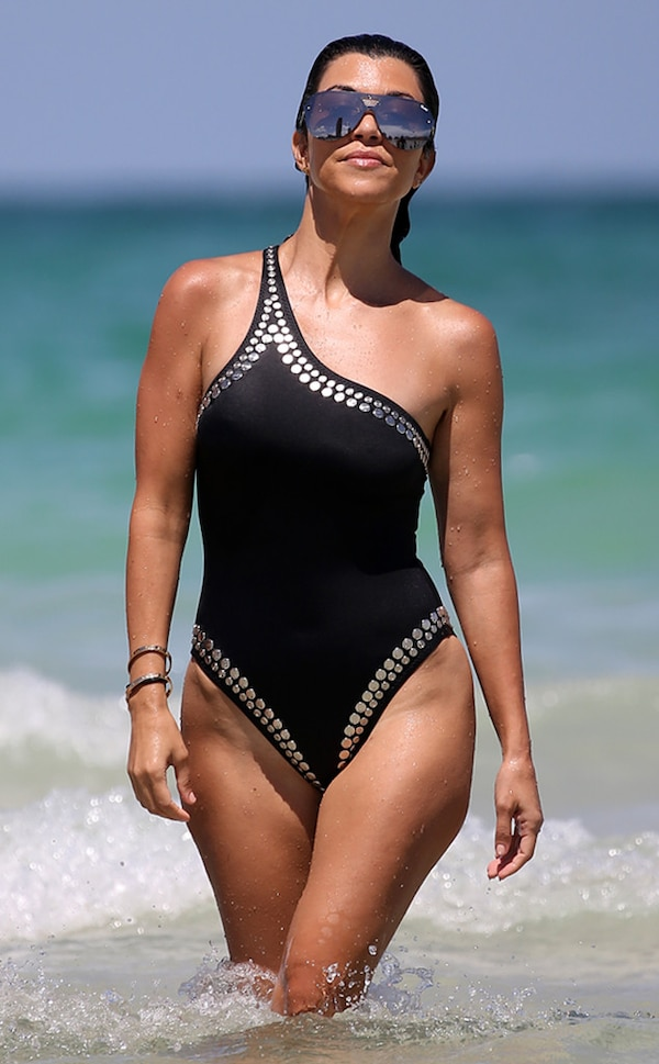 Fit For Travel Brazil: Sizzling In South Beach From Kourtney Kardashian's Hottest