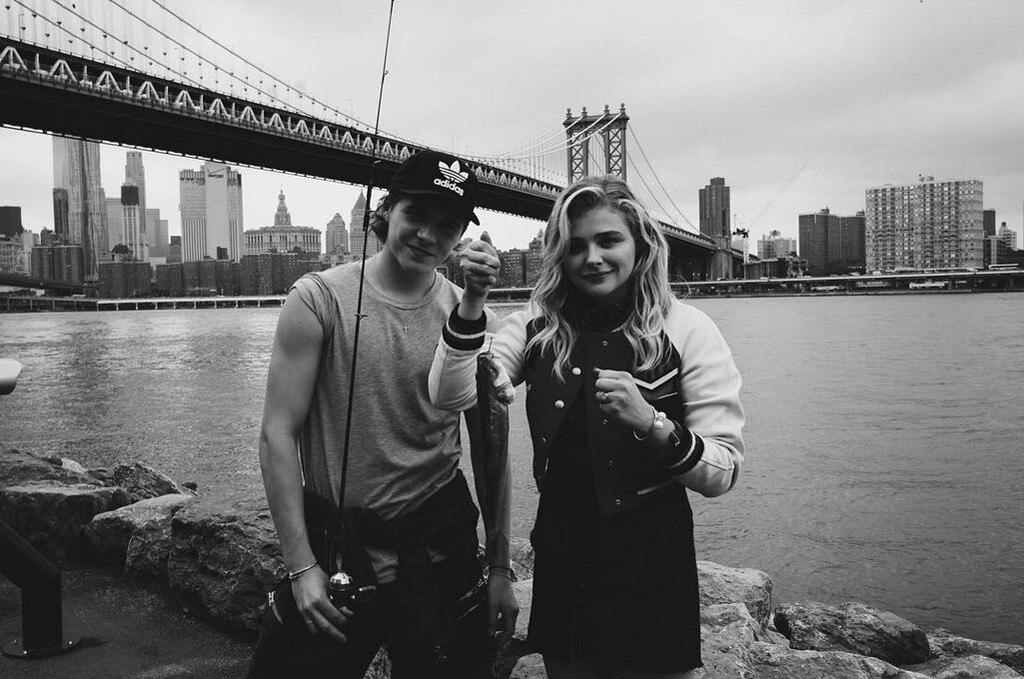 Chloe Grace Moretz, Brooklyn Beckham