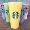 Starbucks Rainbow Drinks