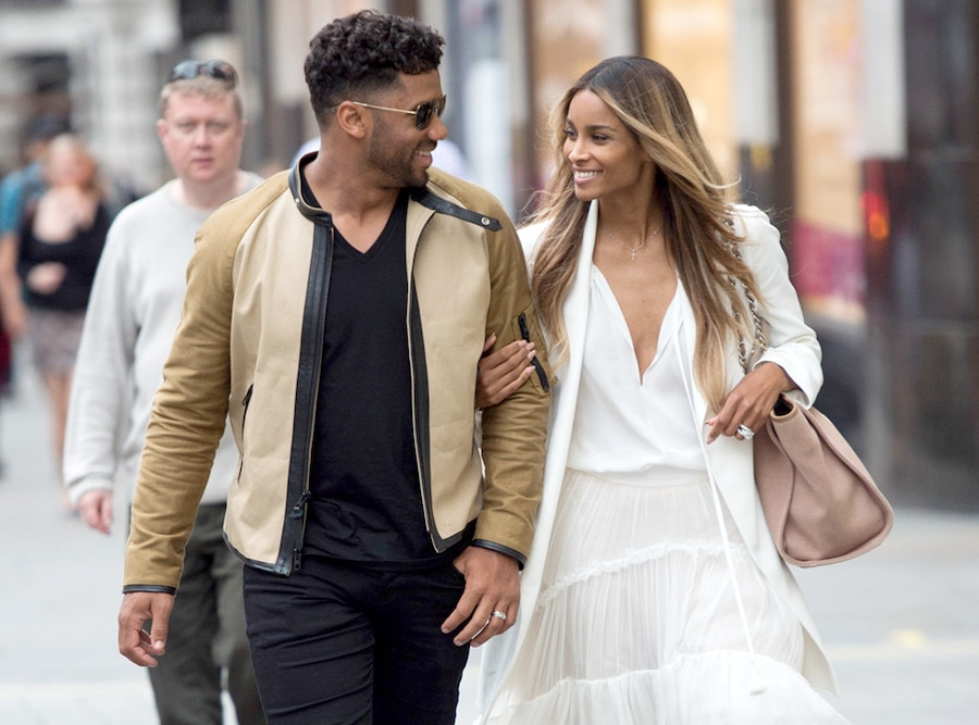 Newly Weds: Russell Wilson, Ciara