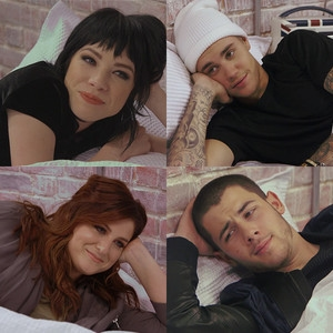 Carly Rae Jepsen, Justin Bieber, Meghan Trainor, Nick Jonas