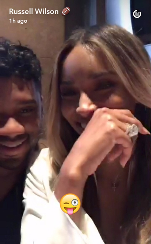 ciara and russell wilson joke about all the sex theyre