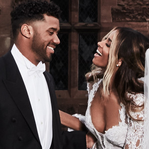 Ciara Harris, Russell Wilson Wedding