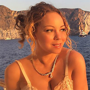 Mariah Carey, Yacht, Italy Vacation