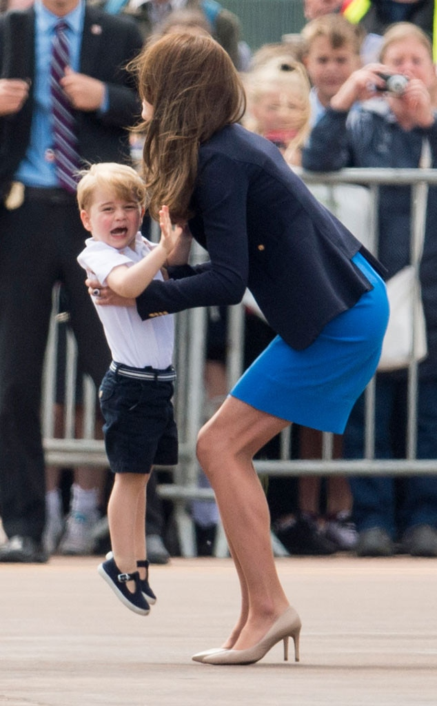 Kate Middleton and Prince William Take Prince George to ...