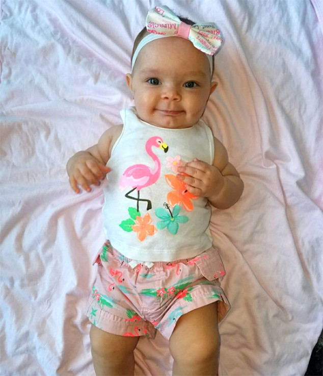 Flamingo Cutie from Ice T & Coco s Cutest of Baby