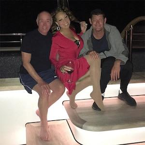Mariah Carey, James Packer, David Geffen, Yacht, Italy Vacation