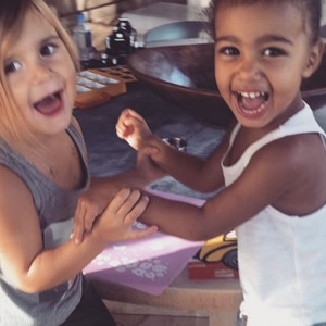 Penelope Disick, North West, 4th Birthday
