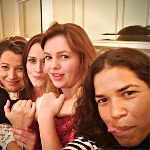 Blake Lively, Alexis Bledel, Amber Tamblyn, America Ferrera, Sisterhood of the Traveling Pants Reunion