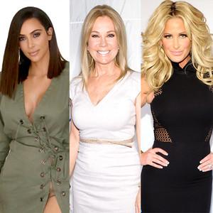 Kim Kardashian, Kathie Lee Gifford, Kim Zolciak, Bella Thorne