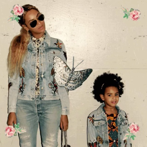 Beyonce, Blue Ivy, Fashion