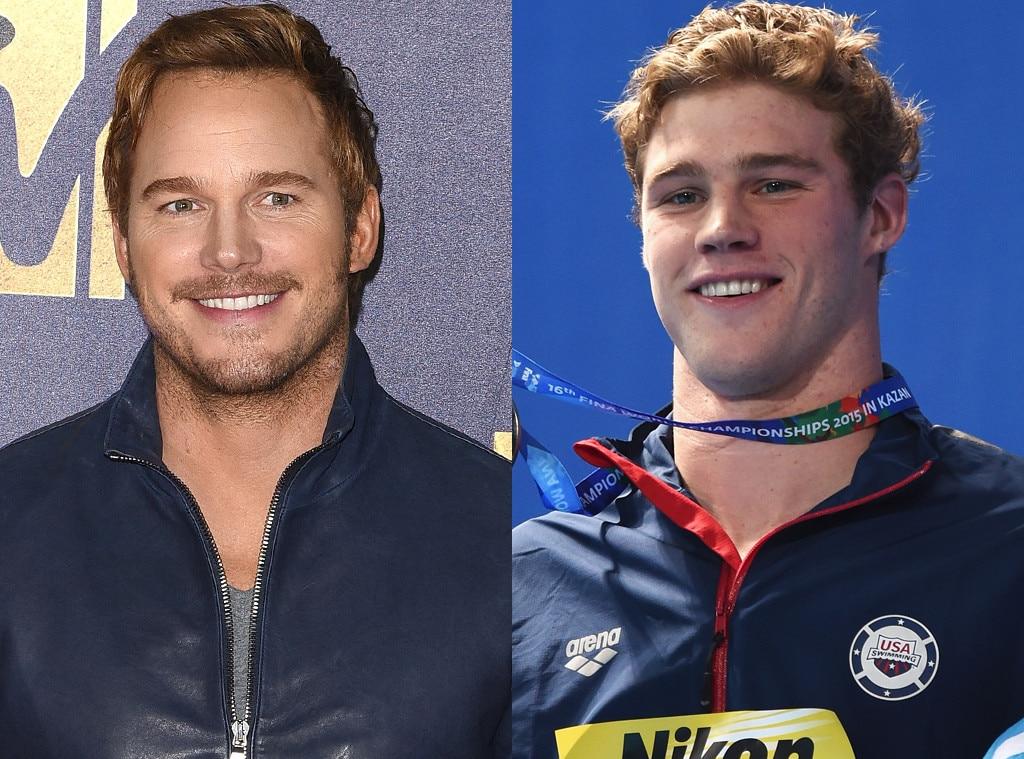 Kevin Cordes, Chris Pratt, 2016 Rio, Olympics, Olympic Athletes, Celeb Lookalikes