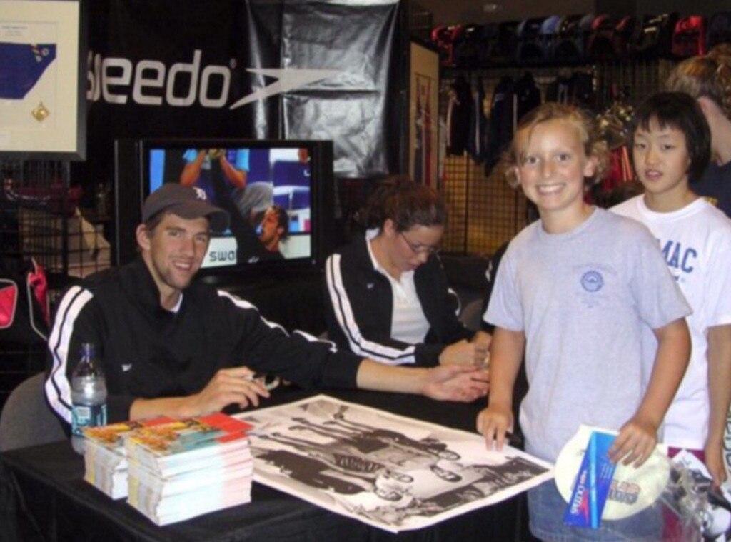 Katie Ledecky, Michael Phelps