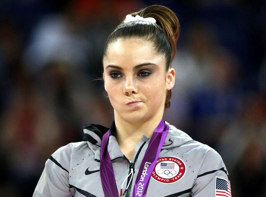 McKayla Maroney, Olympians watching Olympics