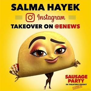Salma Hayek, Instagram