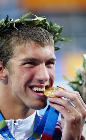 Michael Phelps, Athens Olympics 2004, 400 medley