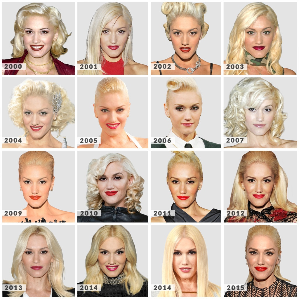 Gwen Stefani, Blonde Hair