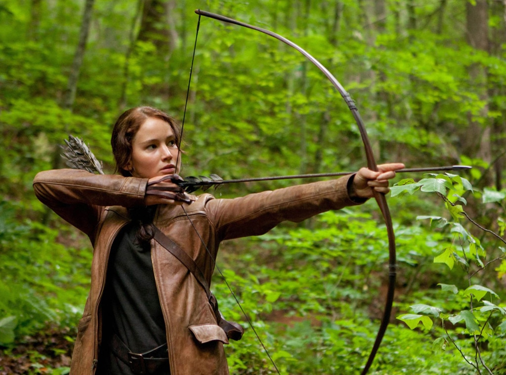 Celebs as Olympians, Jennifer Lawrence