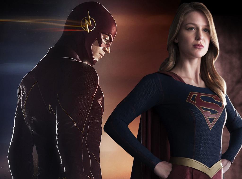 The Flash, Supergirl