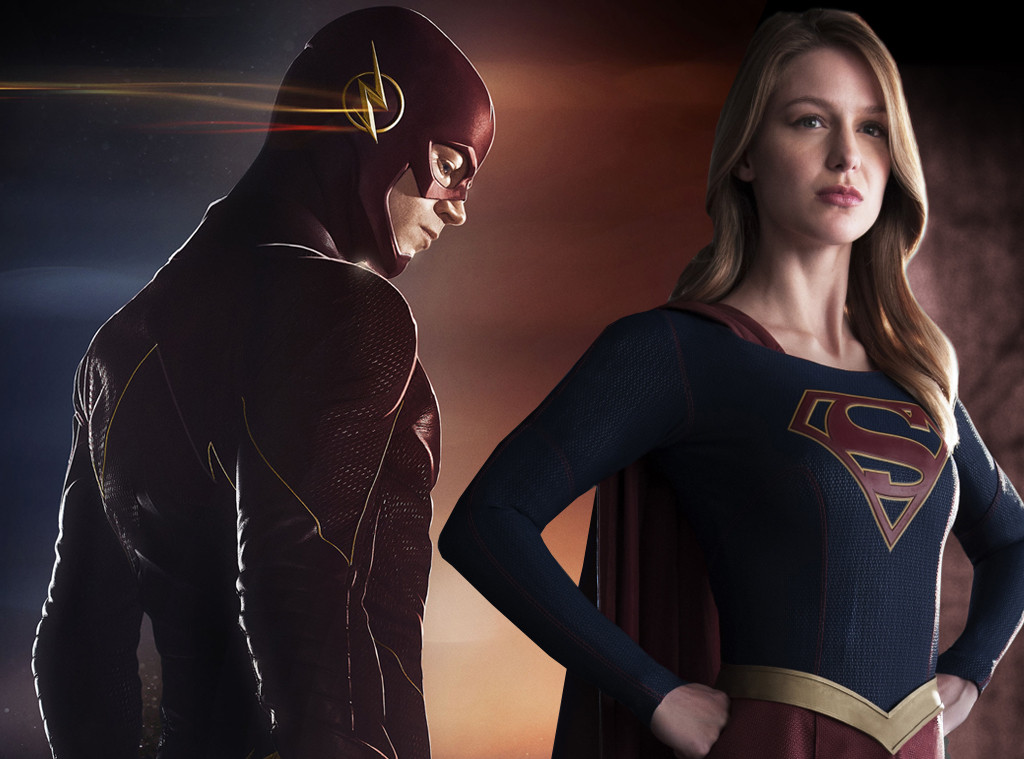 The Flash, Supergirl
