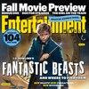 Eddie Redmayne, Fantastic Beast, EW, Entertainment Weekly