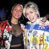 Alicia Keys, Miley Cyrus