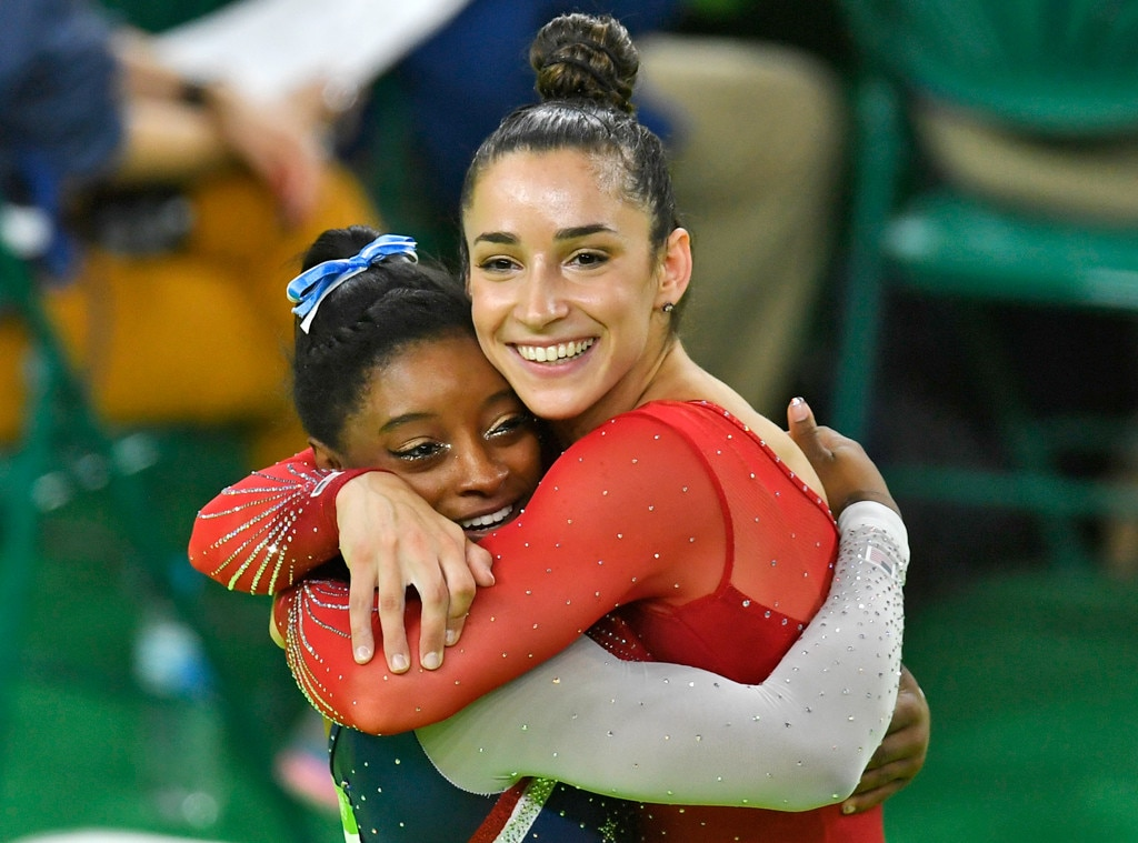Simone Biles tweets support for Aly Raisman: 'You are so brave'