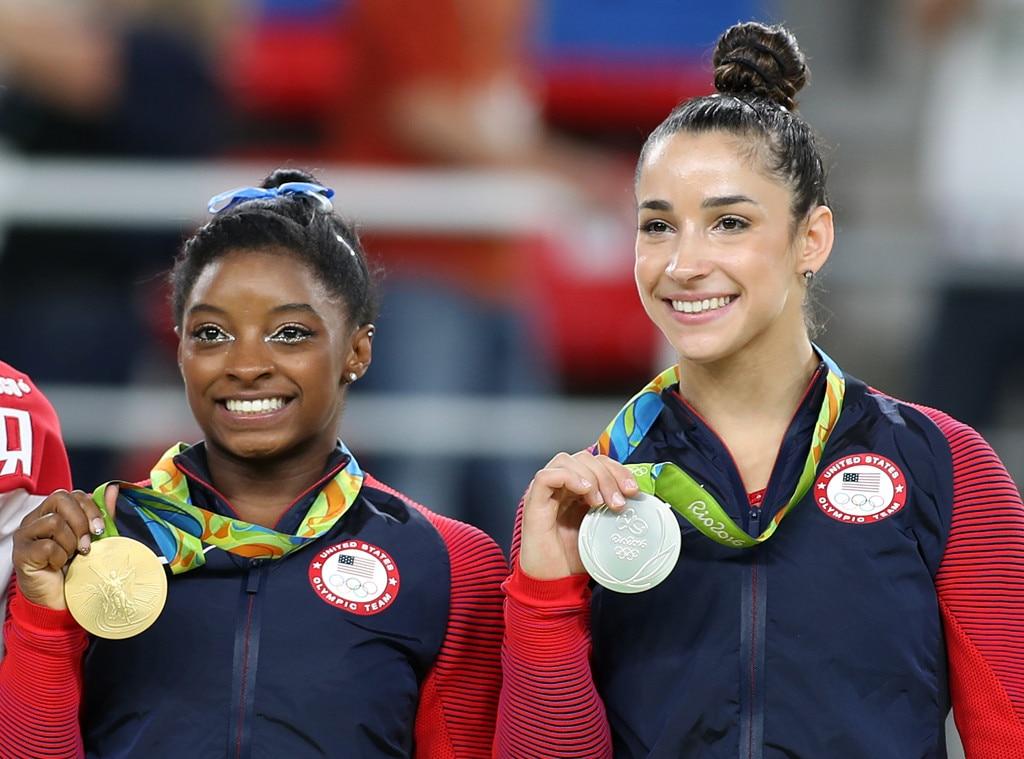 Simone Biles, Aly Raisman, Olympics, 2016 rio