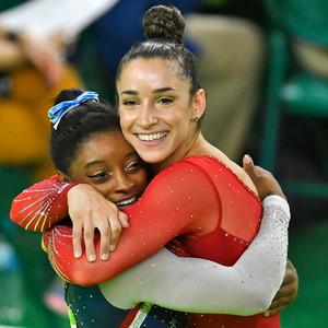 2016 Rio Olympics, Gymnastics, Aly Raisman, Simone Biles