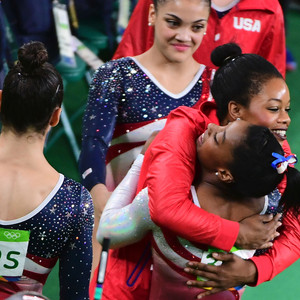 2016 Rio Olympics, Gymnastics, Simone Biles, Gabrielle Douglas