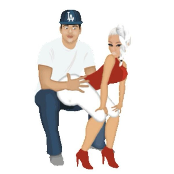 Blac Chyna, Rob Kardashian, Chymoji