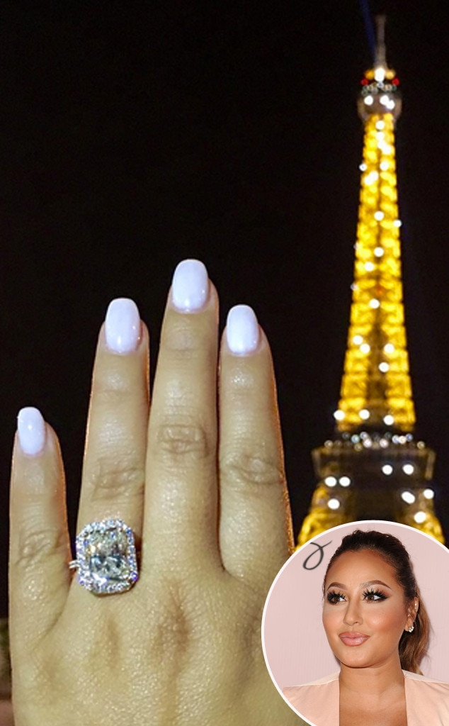 Adrienne Bailon Dishes On Her Wedding Dress Decor And