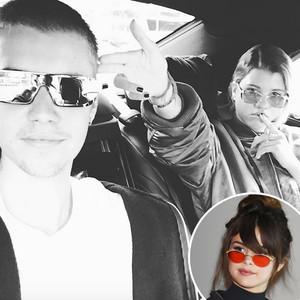Justin Bieber, Selena Gomez, Sofia Richie