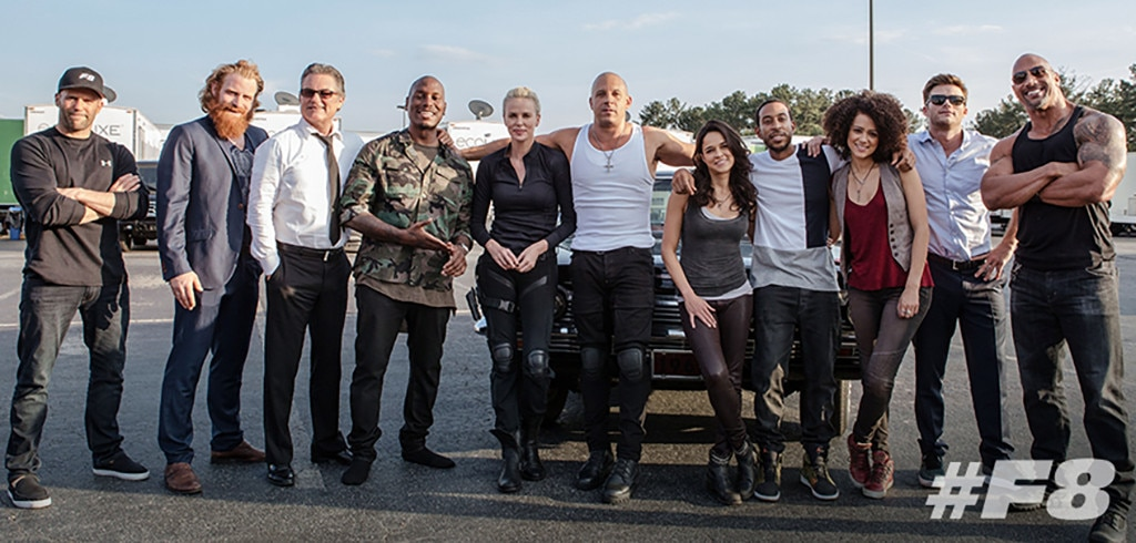 Fast 8, Fast and Furious, Cast