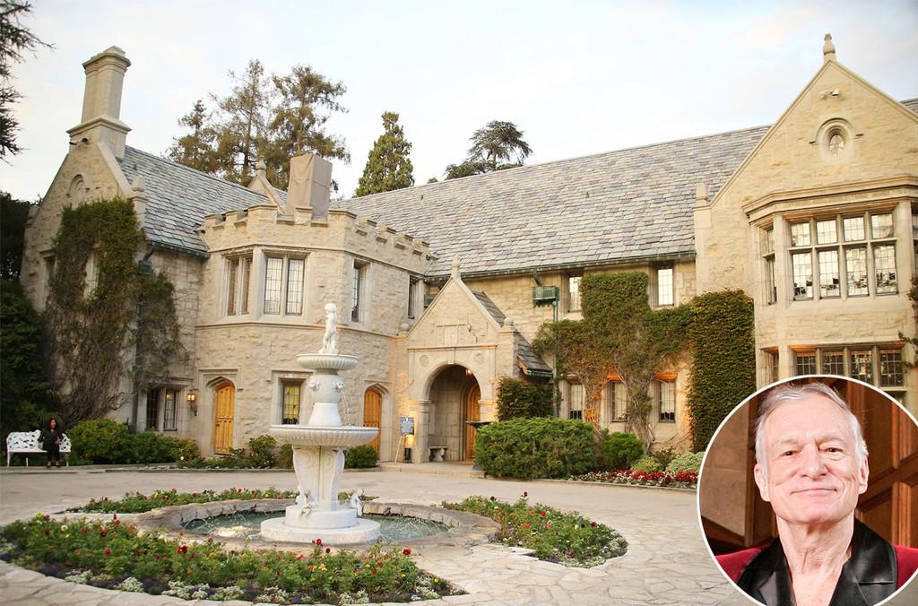 Playboy Mansion, Hugh Hefner, Celeb Homes