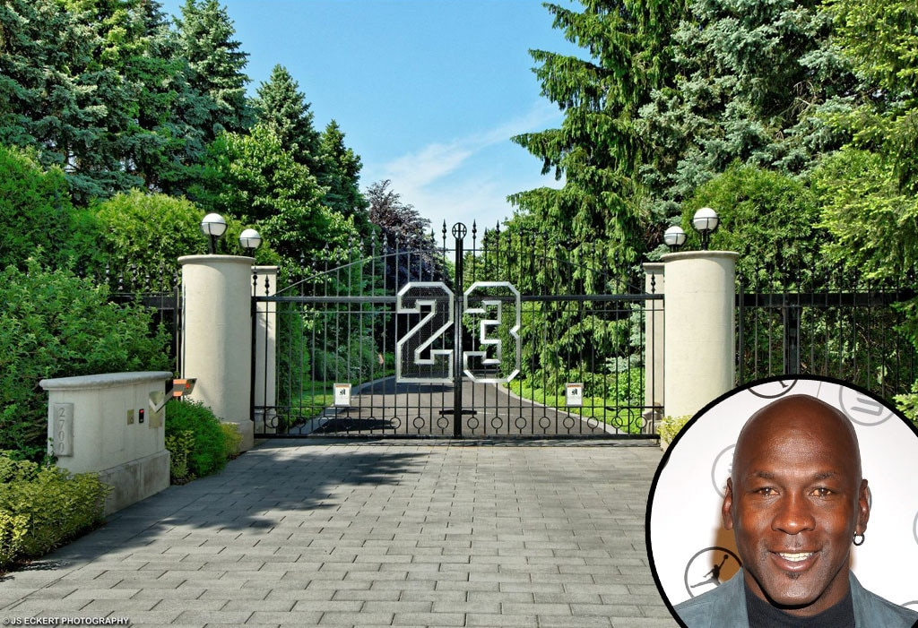 Michael Jordan, Chicago Estate, Celeb Homes
