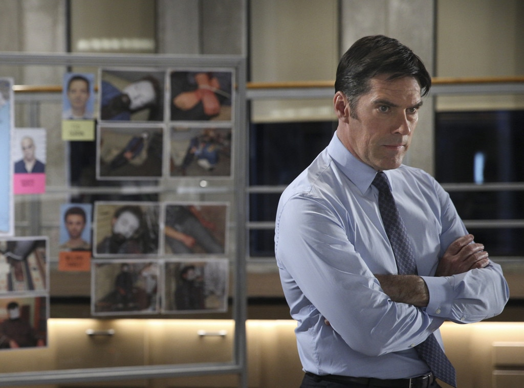 Criminal Minds, Thomas Gibson