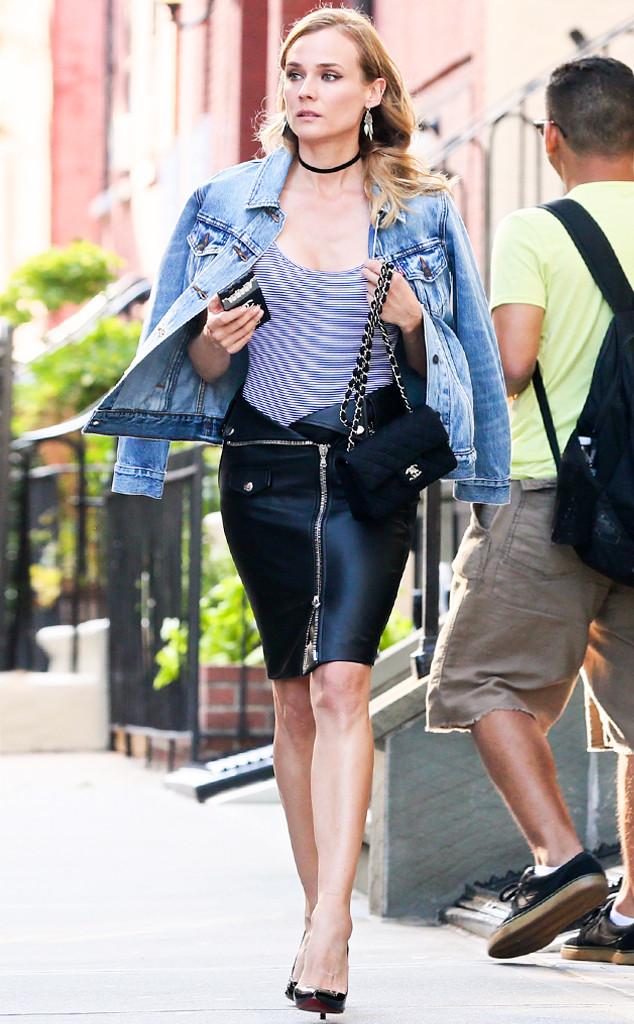 ESC: Diane Kruger, Pencil Skirts